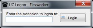 UC Logon Flexworker